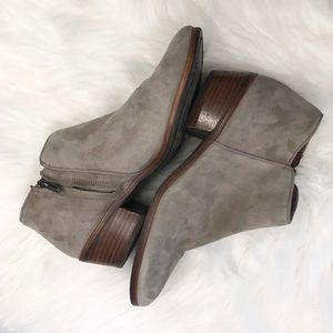 Sam Edelman Suede Petty Ankle Bootie